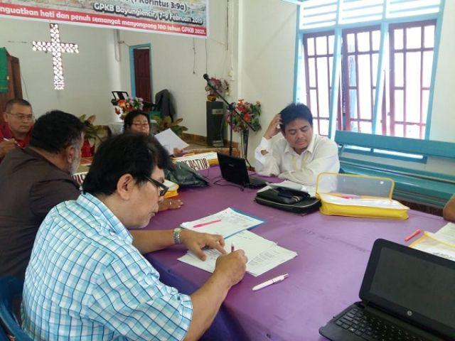 Konfen Pendeta GPKB tgl 7-9 februari 2019 di Palembang, Sumsel