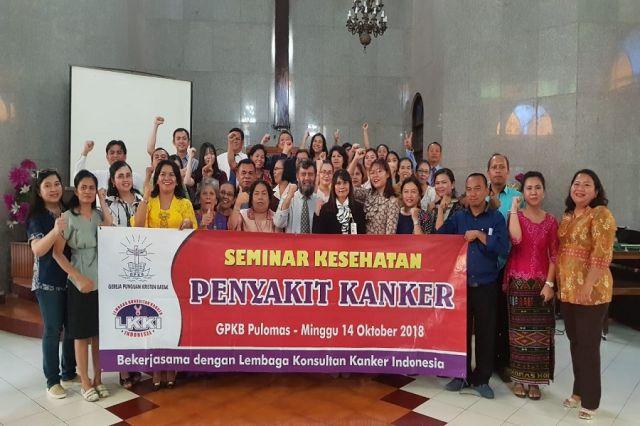 Seminar Kesehatan Penyakit Kanker - GPKB Pulo Mas Dengan Lembaga Konsultan Kanker Indonesia